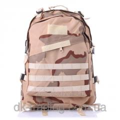 Army marching backpack of Bulat brown leaf