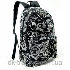 Backpack of city Adidas City black