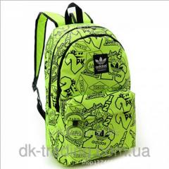 Backpack of city Adidas City light green