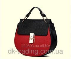 Women bag Chloe black red