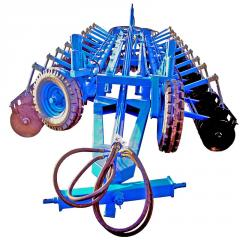 Hoeing plow disk LD-14.0, LD-8.0