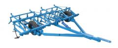 Cultivators for continuous processing of the soil