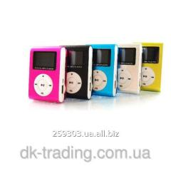 Mp3 player with the screen aluminum