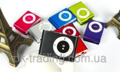 MP3 player aluminum clip