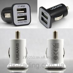 Automobile charging of Usams 2 Usb