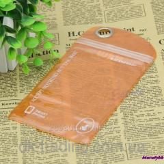 Cover moisture protective SwimPhone black