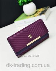 Purse Chanel purpule clutch