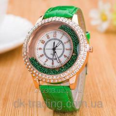 GoGame green wrist watch