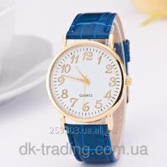 Men's watch wrist Prostor blue