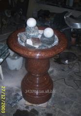 Fountain granite Rotation of F-113
