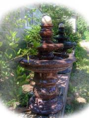 The fountain granite for a garden 205