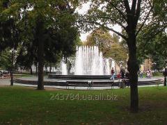 The fountain granite for B0 park