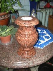 Vase granite B7