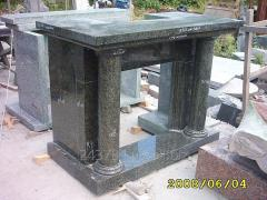 Fireplace granite B51