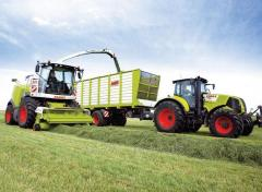 Pass of the Claas 6856940 fan