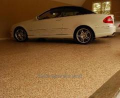 Наливные полы для гаражей