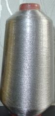 Metathread vyshivny (The threads metallized)