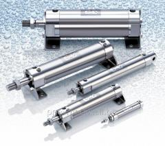 Pneumatic cylinder from CG5 stainless steel