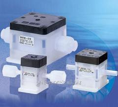 Regulator of air-controlled pressure of SRF