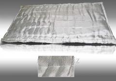 Mat heat-insulating and sound-absorbing basalt RST