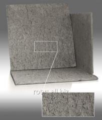 Cardboard basalt heat-insulating TK-1 - TU At