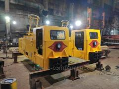 Electric locomotive contact mine K-10
