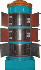 Vibrocentrifugal separator of BTsS-25, BTsS-50,