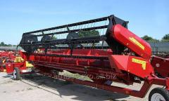 Harvester for cleaning of soy of Fleks