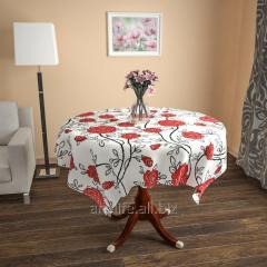 Design cloth from gabardine the Blossoming rose,