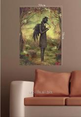 Картина на подрамнике 50 см х 70 см, арт.