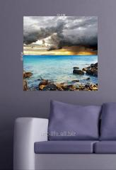 Stylish picture on a stretcher of 50 cm x 70 cm in