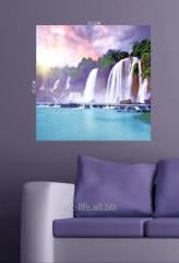 Stylish picture on a stretcher of 60 cm x 60 cm in