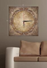 Stylish picture hours on a stretcher of 25 cm x 75