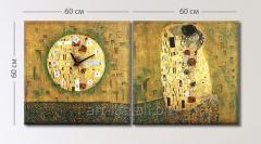 Unique stylization of a picture of G. Klimt