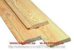Eurolining (pine) of 14 mm x 80 mm x 4000/4500 mm