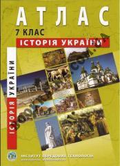 Atlasdlya to the 7th class _stor_ya Ukra§ni