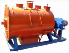 Production of mixers of concrete