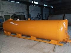 Vacuum tanks for special cars (1 - 35 cube)