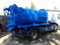 Assenizatorny vacuum tanks for special cars (1 -