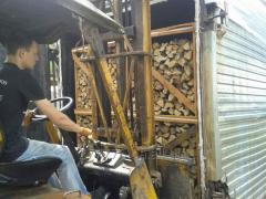 Firewood a hornbeam in pallets 1,2m*0,8m*2m