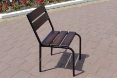 C-Classic-BD Chair Classical (ferrous metal, dark