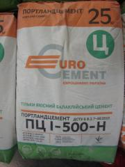 Cement of the PTs-_ brand 500, 50 of kg, Balakley,