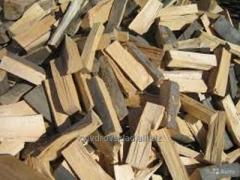 Firewood for a barbecue