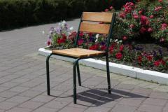 C-Classic-GL Chair Classical (green metal, light