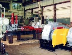 Roller brikettering press. Modell 23 PS.