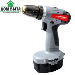 Cordless screwdriver URALMASH of DA 18H (model)