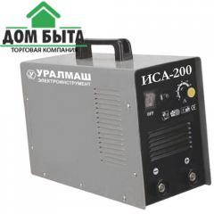 Invertor welding machine URALMASH of ISA 200
