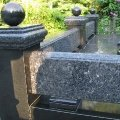 Socle from granite: production and installation on