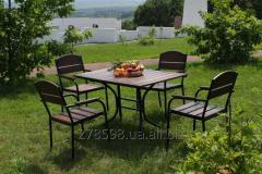 KIT-Premium-BD Комплект мебели Премиум (черный металл, темное дерево)