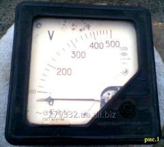 Вольтметр Э30 щитовой переменного тока от 100 -500 V.